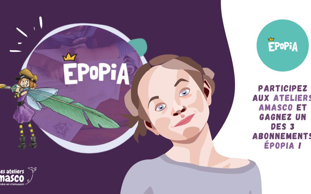Tentez de gagner un abonnement Epopia de 3 mois !